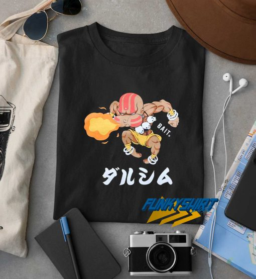 Bait X Street Fighter Men Chibi Dhalsim Tee t shirt
