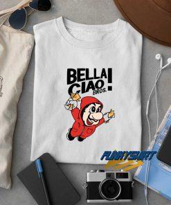 Bella Ciao Bros Mario t shirt