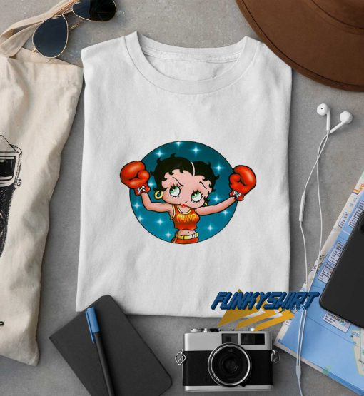 Betty Boop Boxing t shirt