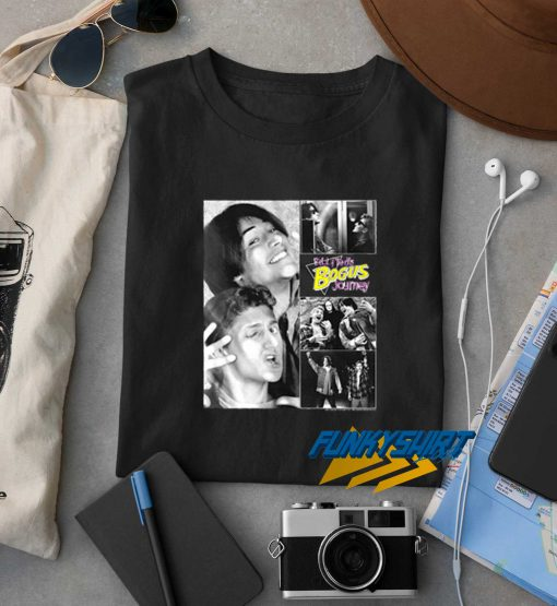 Bill And Teds Bogus Journey Collage t shirt