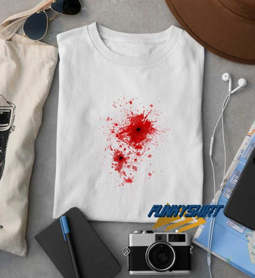 Blood Spatter t shirt