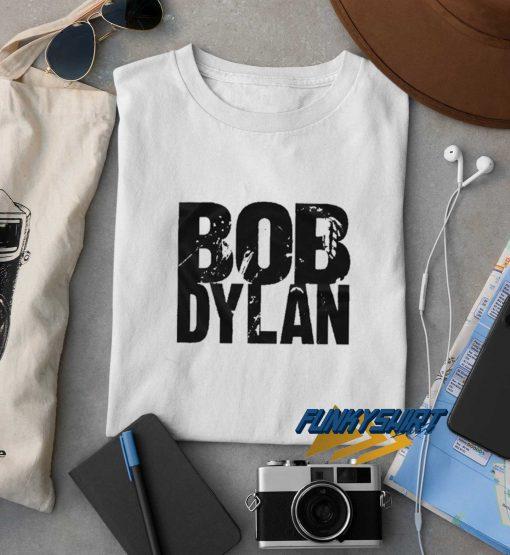 Bob Dylan White Unisex t shirt