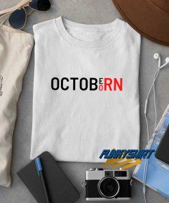 Born In October t shirt