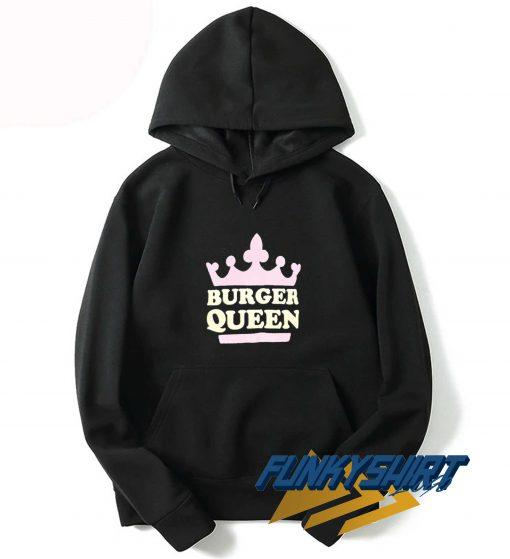 Burger Queen Crown Hoodie