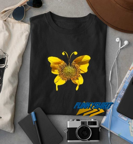 Butterfly And Sunflower t shirt