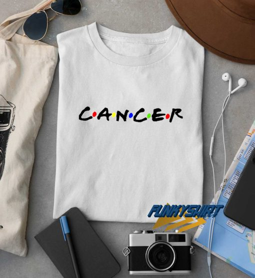 Cancer Text t shirt