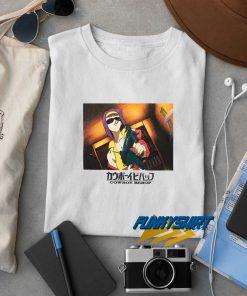 Cowboy Bebop Anime Gun t shirt