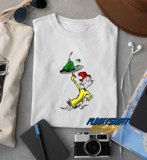 Dr Seuss Green Egg And Ham t shirt