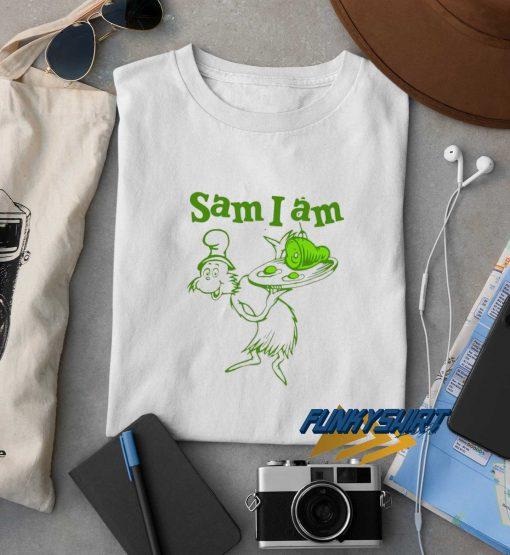 Dr Seuss Sam I Am Green Eggs And Ham t shirt