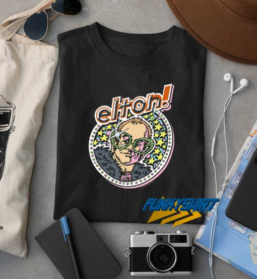Elton John Star t shirt