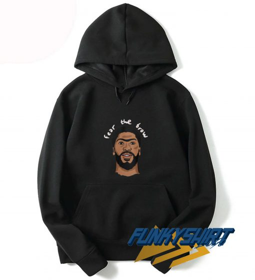 Fear The Brow Graphic Hoodie
