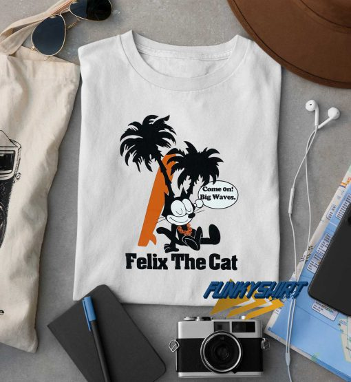 Felix The Cat Hawaiian t shirt