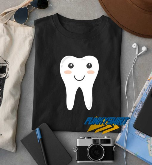 Funny Cool Happy Tooth t shirt