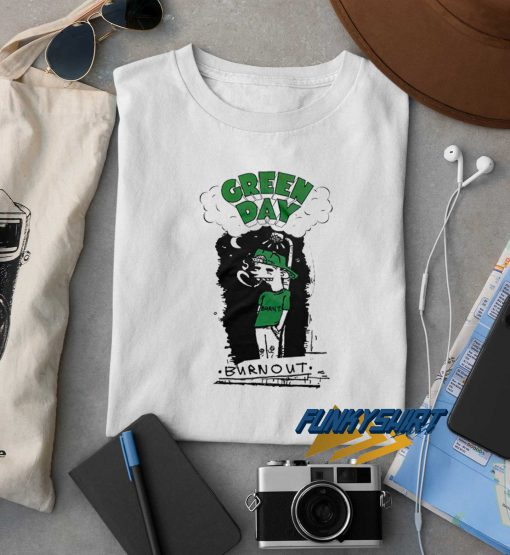 Green Day Burnout t shirt