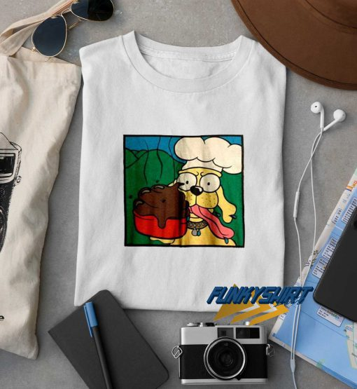 Green Day Dookie Dog Poo Chef t shirt