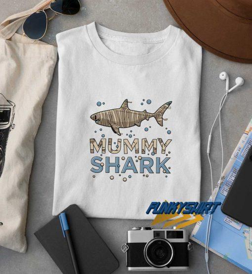 Halloween Mummy Shark t shirt