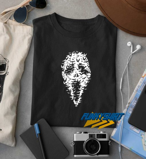Halloween Scary Ghost Mask t shirt