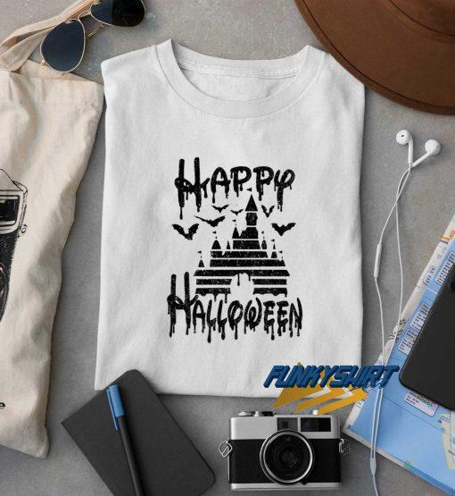 Happy Halloween White t shirt
