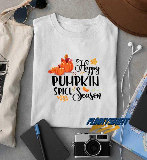 Happy Pumpkin Spice Season Halloween t shirt