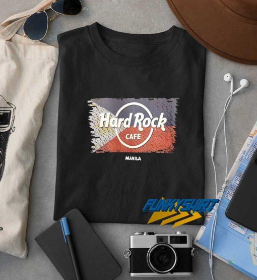 Hard Rock Cafe Manila Philippines t shirt