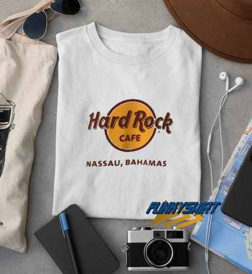 Hard Rock Cafe Nassau Bahamas t shirt