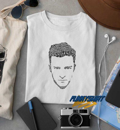 Justin Timberlake Lyrics t shirt