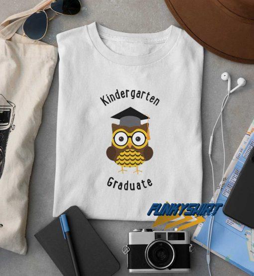 Kindergarten Graduate Owl t shirt