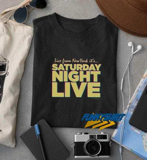 Live from New York Saturday Night Live t shirt
