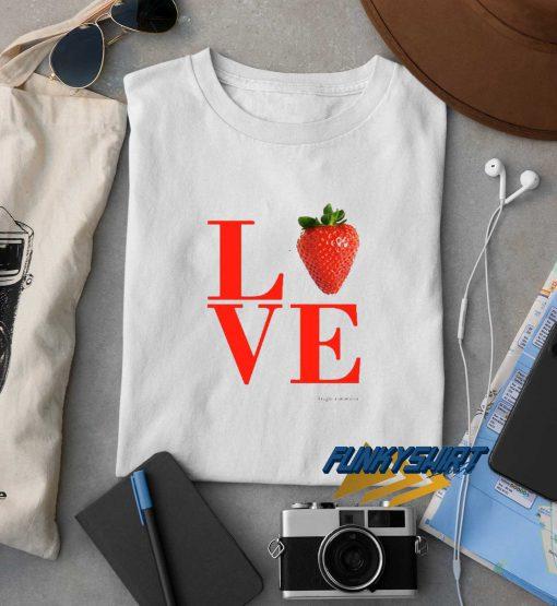 Love Strawberry t shirt