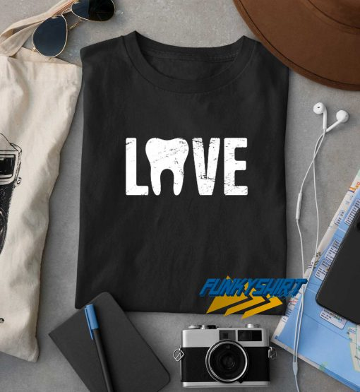 Love Tooth t shirt