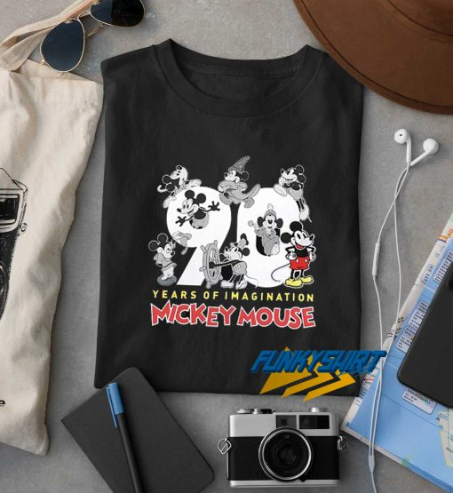 Mickey Mouse 90 Years Of Imagination t shirt
