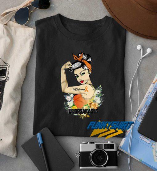 Ms Warrior Unbreakable t shirt