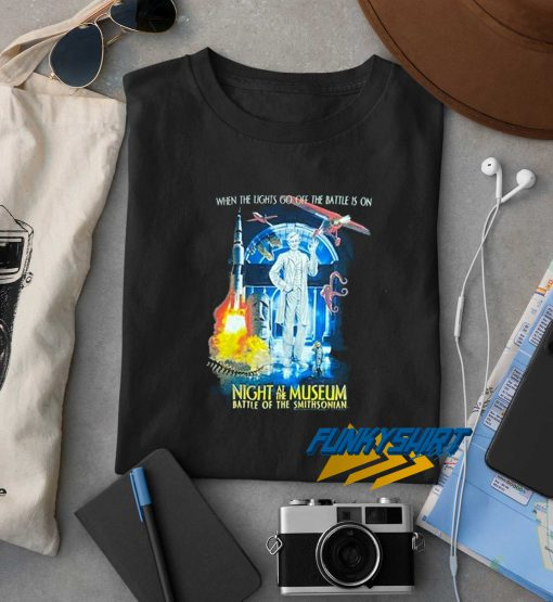 Night At The Museum Smithsonian t shirt