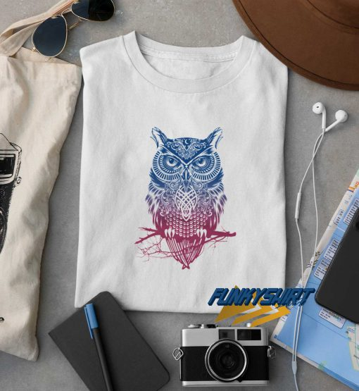 Night Warrior Owl t shirt