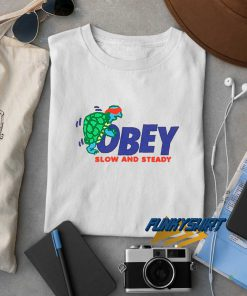 Obey Slow And Steady t shirt
