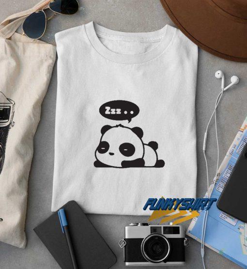 Panda Zzz t shirt