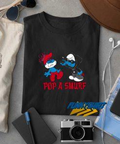 Pop A Smurf t shirt