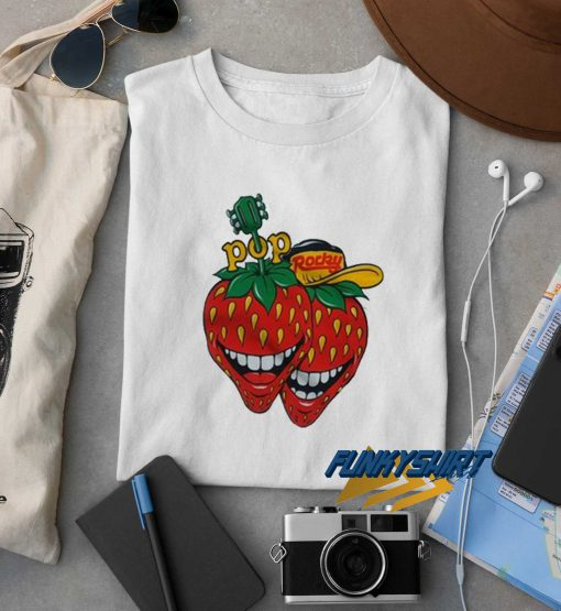 Pop Rocky Strawberry t shirt