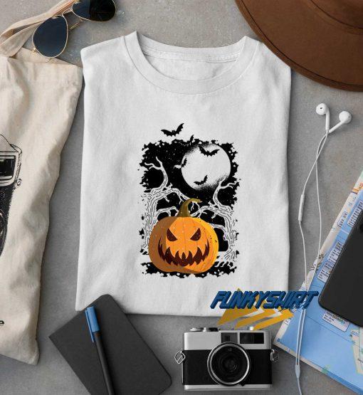Pumpkin Halloween Design t shirt
