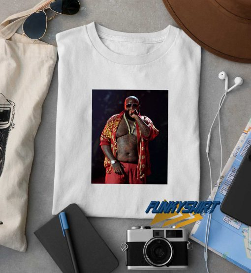 Rick Ross Rapper Photos t shirt