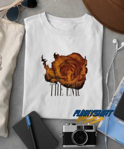 Rose Fire The End t shirt