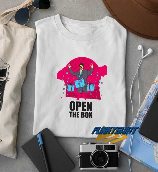 Saturday Night Live Open The Box t shirt