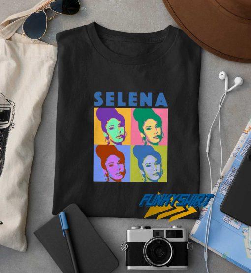 Selena Quintanilla Warhol Pop Art t shirt