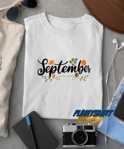 September Pumpkin t shirt