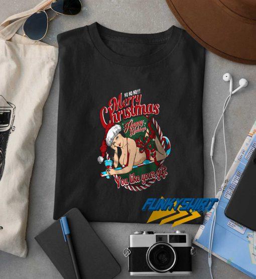Sexy Santa Mery Christmas t shirt
