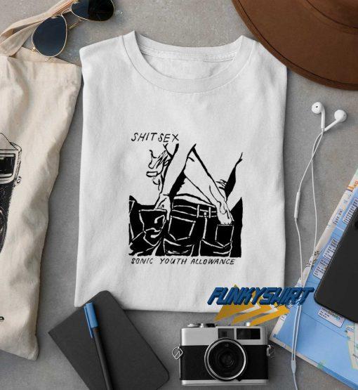 Sonic Youth Shite Sex t shirt