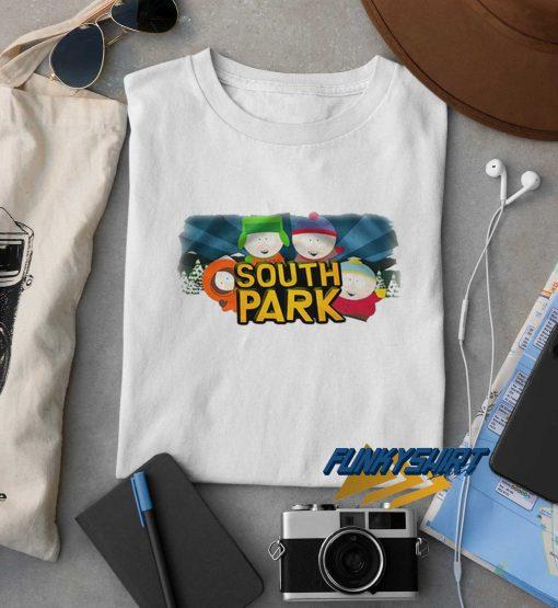 South Park White Unisex t shirt