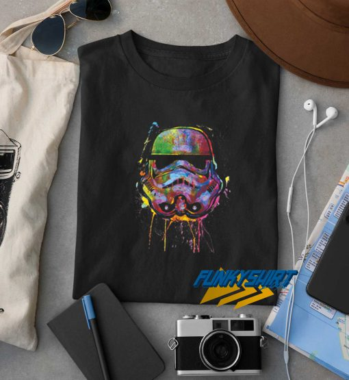 Star Wars Paint Splat Stormtrooper Tee t shirt