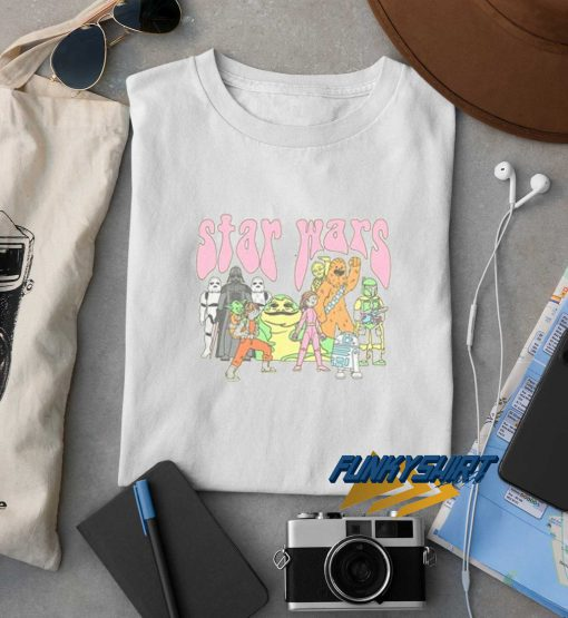 Star Wars Psychedelic Characters t shirt