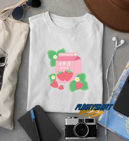 Strawberry Milk Kawaii Cute t shirt